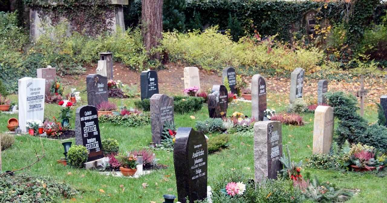 Urnen Reihengrab Urnengrabstätte Urnengräber Urnenreihengrab