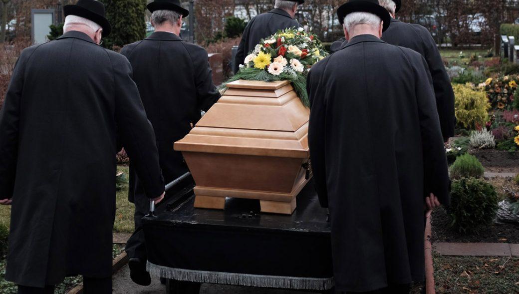 Falkenstein, Beerdigungen