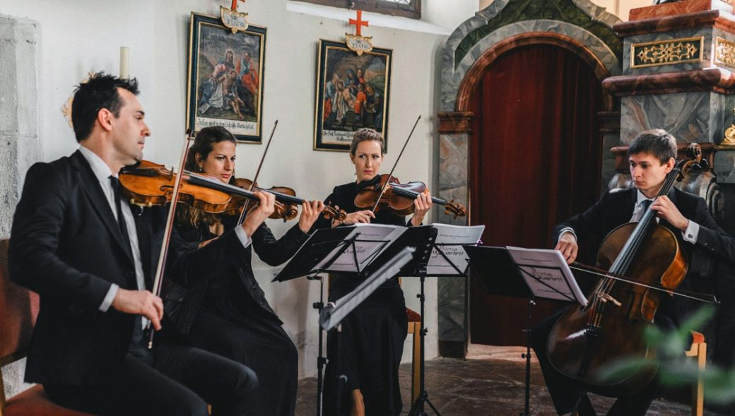 Streichquartett für die Trauerfeier in Hamburg