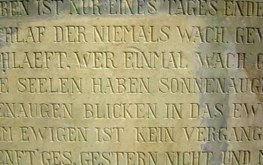 Grabsteinsprüche & Texte für Grabinschriften
