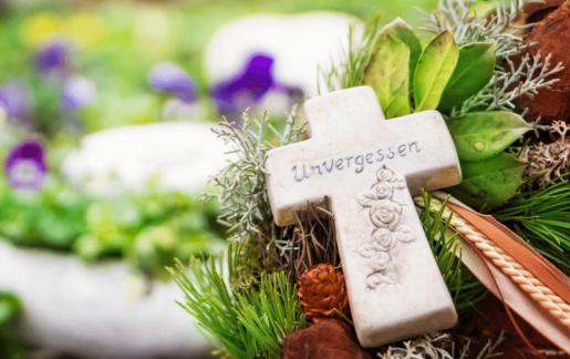 Grabgestecke & Trauergestecke für Allerheiligen & Totensonntag online bestellen