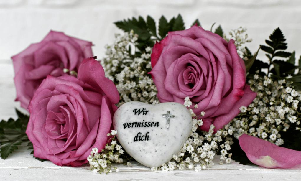 Trauerstrauß Mit Schleife Online Bestellen Versenden Preise
