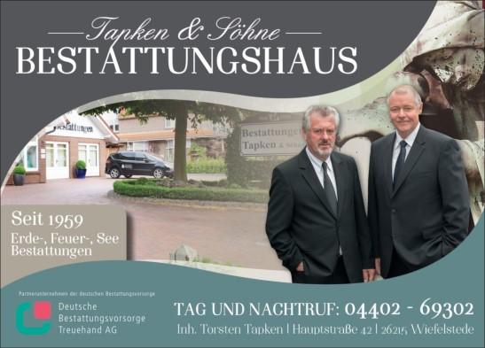 Bestattungshaus Tapken & Söhne - Bestatter Torsten Tapken