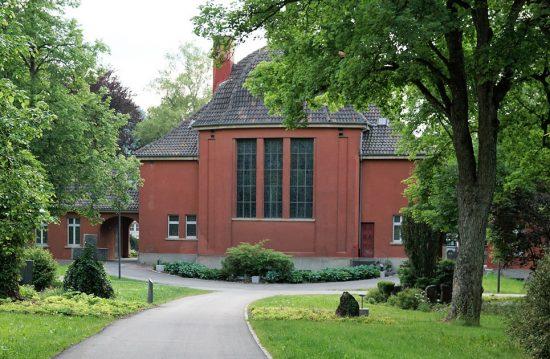Krematorium von Hamburg/ Hamburger Krematorium Ohlsdorf