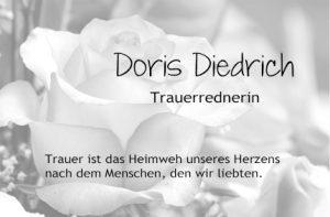 Trauerrednerin & Grabrednerin in Trier - Doris Diedrich
