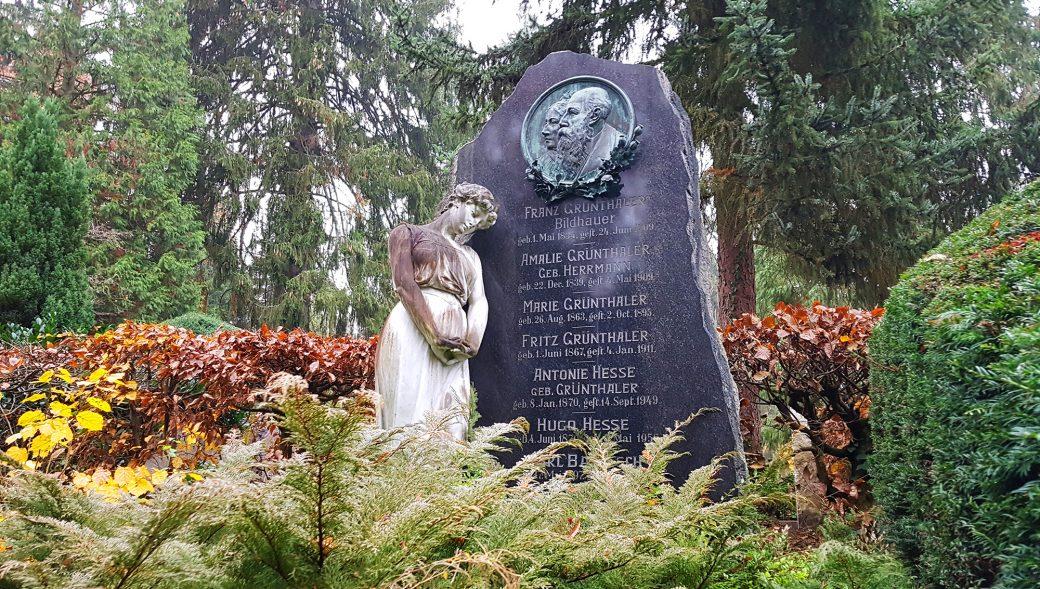 Der Dornhaldenfriedhof in Stuttgart-Degerloch