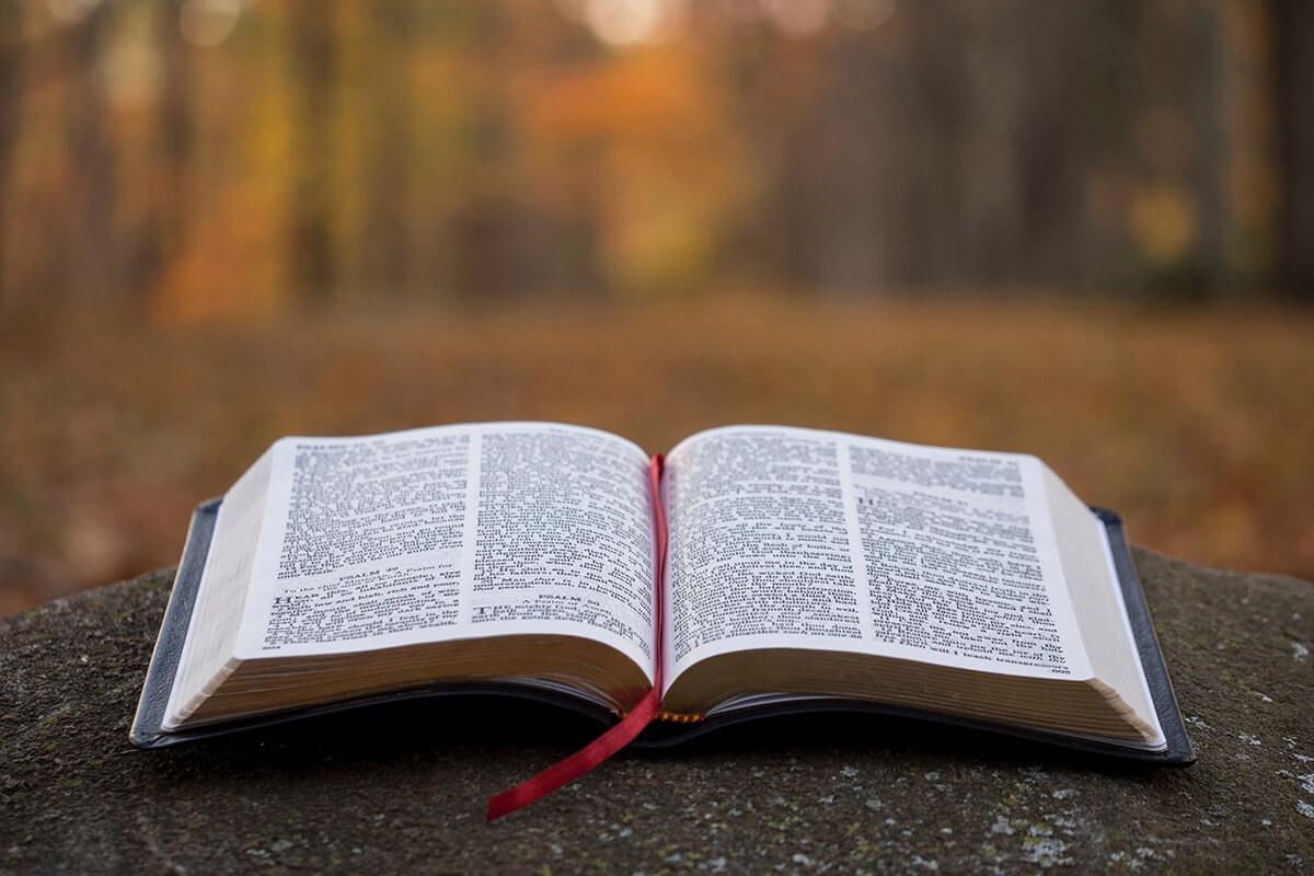 Trauerrede mit Zitaten aus der Bibel