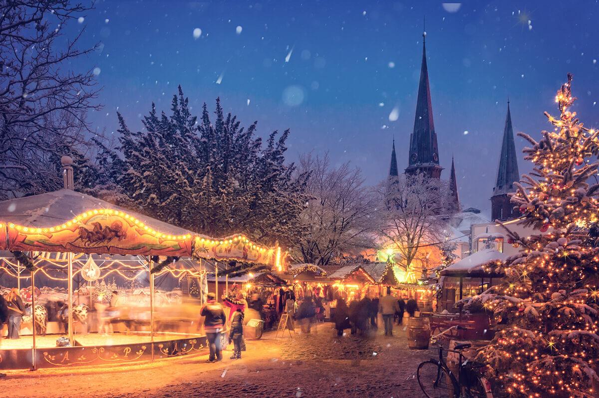 Weihnachtsmarkt nach dem Totensonntag