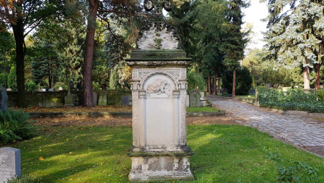 Neuer Jüdischer Friedhof in Dresden-Johannstadt